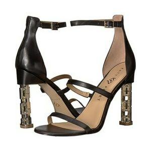 Katy Perry The Vilan Black Heeled Sandal